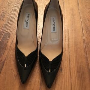 Jimmy Choo ruched front pumps